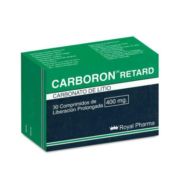 Neurosiquiatría Carboron Retard Carboron Retard