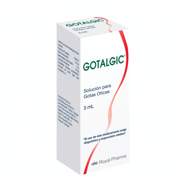 Broncopulmonar otorrino Gotalgic Gotalgic