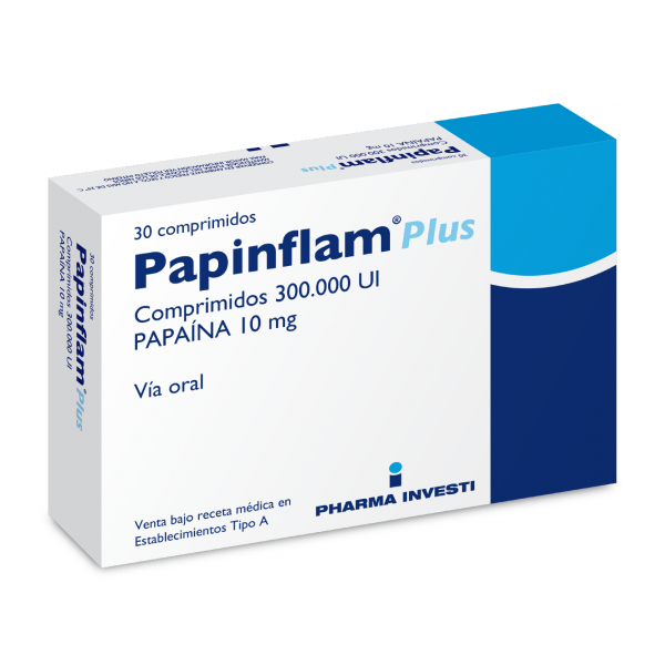Broncopulmonar otorrino Papinflam Plus Papinflam Plus